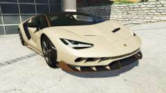 Lamborghini Centenario LP770-4 2017 v1.3 [r] for GTA 5