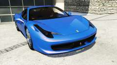 Ferrari 458 Italia v2.0 [replace] for GTA 5