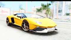 Lamborghini Aventador LP720-4 Roadster 2013 for GTA San Andreas