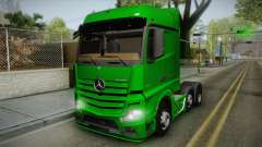 Mercedes-Benz Actros Mp4 6x2 v2.0 Bigspace for GTA San Andreas
