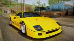 Ferrari F40 (EU-Spec) 1989 IVF for GTA San Andreas