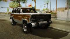 Jeep Grand Wagoneer Limite 1986 for GTA San Andreas