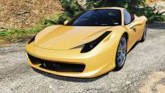 Ferrari 458 Italia [add-on] for GTA 5