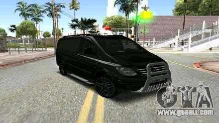 Mercedes-Benz Vito чёрный for GTA San Andreas