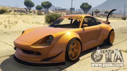 Pfister Comet Widebody for GTA 5