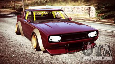 Nissan Skyline GT-R C110 Liberty Walk [replace] for GTA 5