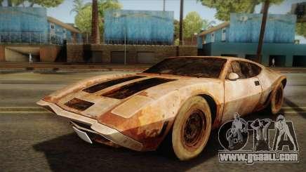 AMC AMX 3 39 1970 Rust for GTA San Andreas