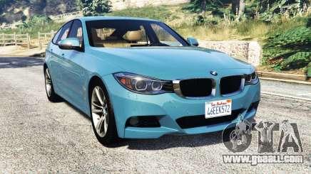 BMW 335i GT (F34) [add-on] for GTA 5