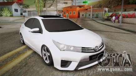 Toyota Corolla 2015 for GTA San Andreas