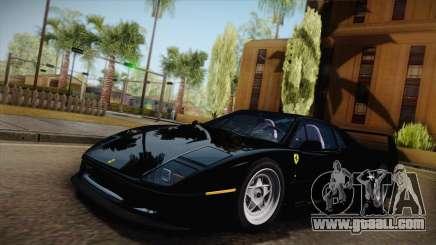 Ferrari F40 (US-Spec) 1989 IVF for GTA San Andreas