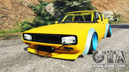 Nissan Skyline GT-R C110 Liberty Walk [add-on] for GTA 5