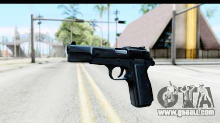 Browning Hi-Power for GTA San Andreas