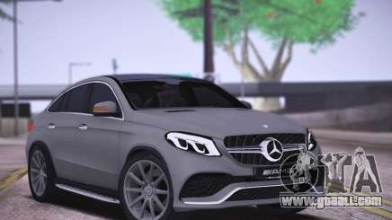 Mercedes-Benz GLE AMG for GTA San Andreas
