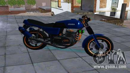 JAWA 350-638 SPORTS AMG for GTA San Andreas