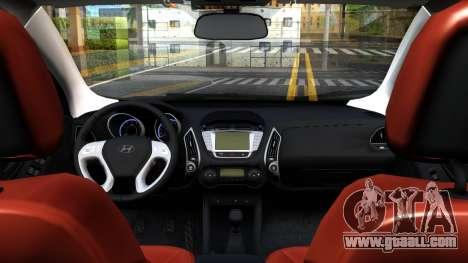 Hyundai ix35 Aze for GTA San Andreas back view