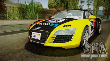 Audi R8 Coupe 4.2 FSI quattro EU-Spec 2008 YCH for GTA San Andreas wheels