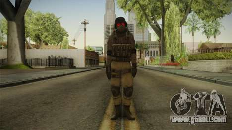Resident Evil ORC - USS v3 for GTA San Andreas second screenshot