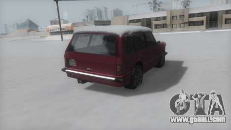 Huntley Winter IVF for GTA San Andreas left view