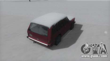 Huntley Winter IVF for GTA San Andreas back left view