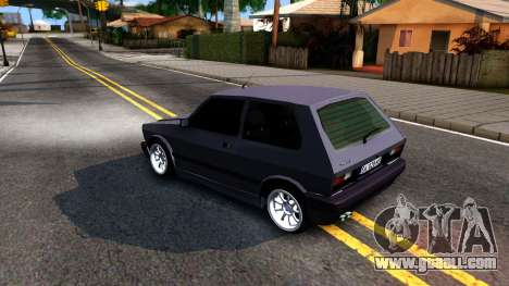 Yugo Koral 45 Sport Tuning for GTA San Andreas left view