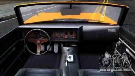 GTA V Declasse Vigero Retro Rim for GTA San Andreas inner view