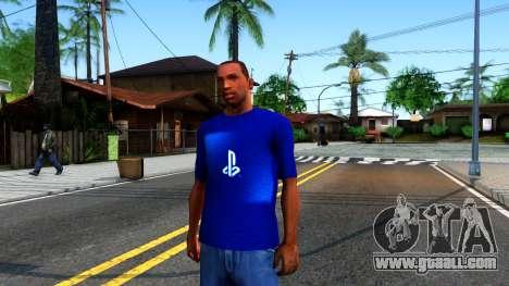 T-Shirt PS4 for GTA San Andreas