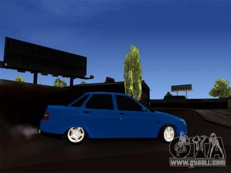 VAZ 2110 BPAN for GTA San Andreas left view