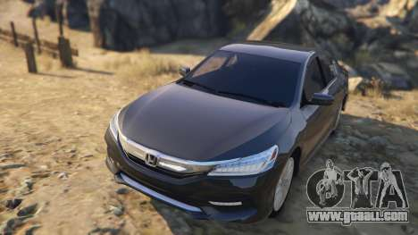 GTA 5 Honda Accord 2017 back view