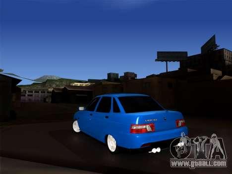 VAZ 2110 BPAN for GTA San Andreas back left view