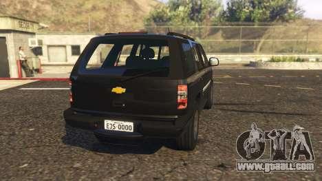 GTA 5 Chevrolet Blazer 4x4 rear left side view