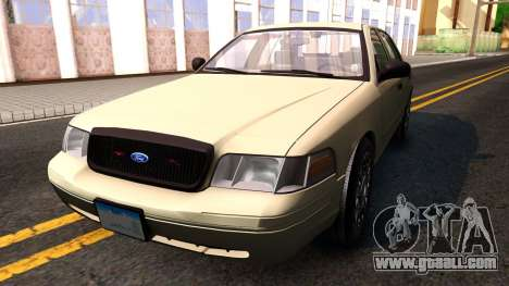 Ford Crown Victoria Unmarked 2009 for GTA San Andreas