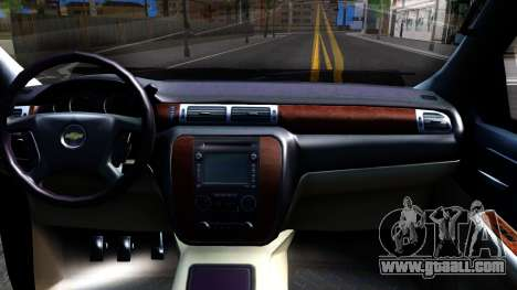 Chevrolet HD 3500 2013 for GTA San Andreas inner view