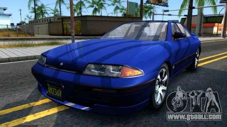 GTA V Zirconium Stratum Sedan for GTA San Andreas