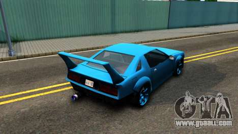 New Buffalo Custom for GTA San Andreas back left view