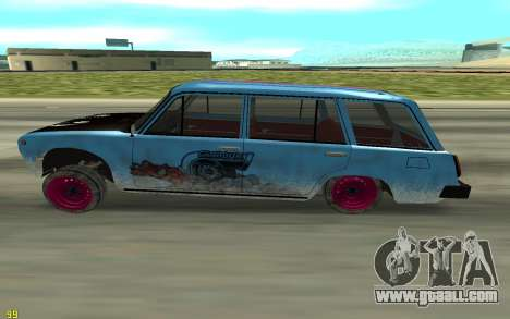 VAZ 2101 Winter drifter for GTA San Andreas left view