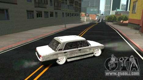 2107 Classic 2 Winter edition for GTA San Andreas interior