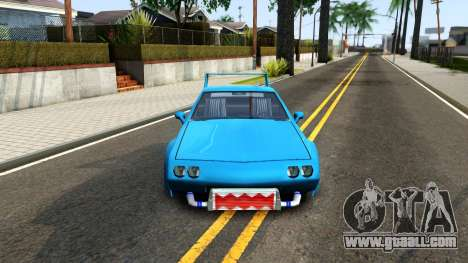 New Buffalo Custom for GTA San Andreas inner view