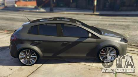 GTA 5 Fiat Bravo 2011 left side view