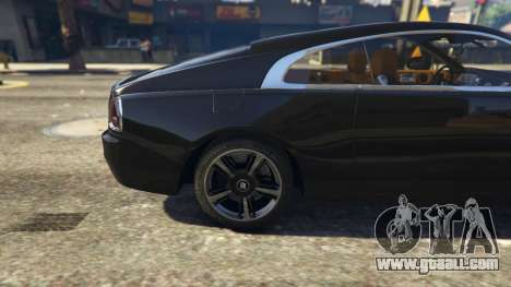 GTA 5 Rolls-Royce Wraith 2015 rear right side view