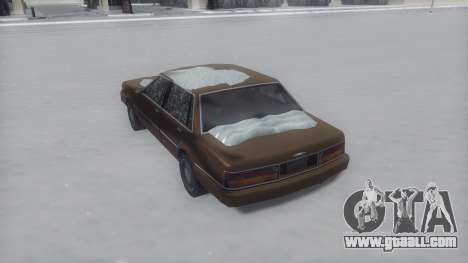 Primo Winter IVF for GTA San Andreas left view