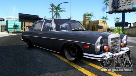 Mercedes-Benz 300SEL 6.3 for GTA San Andreas left view