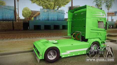 Scania Old School for GTA San Andreas left view