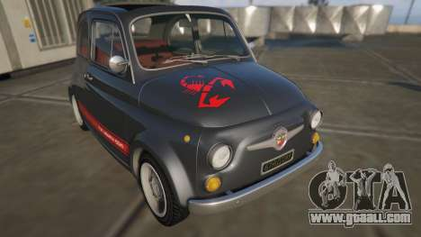 Fiat Abarth 595ss Street ver for GTA 5