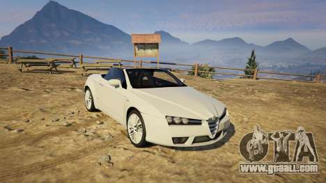 Alfa Romeo Spider 939 (Brera) for GTA 5