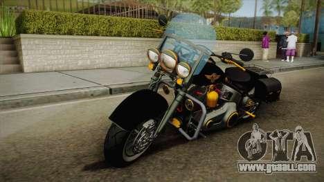 Harley-Davidson Fat Boy Lo Vintage 1992 v1.1 for GTA San Andreas