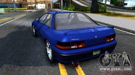 GTA V Zirconium Stratum Sedan for GTA San Andreas back left view
