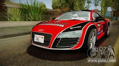 Audi R8 Coupe 4.2 FSI quattro EU-Spec 2008 YCH for GTA San Andreas