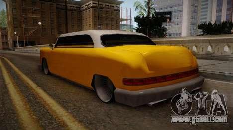 Custom Cab for GTA San Andreas back left view