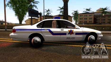 Chevy Caprice Hometown Police 1996 for GTA San Andreas left view