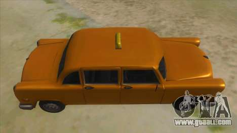 VC Cabbie Xbox for GTA San Andreas inner view